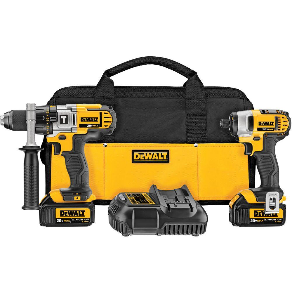 Top Selling Dewalt Cordless Combo Kits